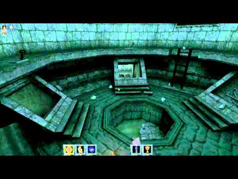 Wheel of Time PC Gameplay Level 03 - The Bowels of Shadar Logoth