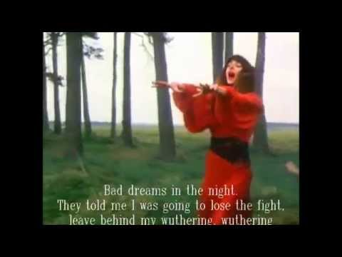 Long Live Kate Bush, Wuthering Heights lyrics about Catherine and Heathcliff