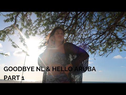 GOODBYE NL & HELLO ARUBA PART 1 ★ MELISSA'S WORLD VLOG #19