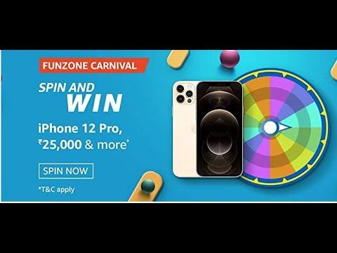 Amazon funzone carnival spin & win quiz answer   19 March ...