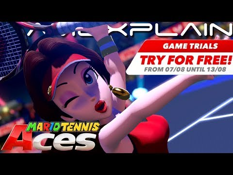 Mario Tennis Aces Going FREE Next Week for Switch Online Subscribers (New Game Trials Programme!) - 동영상