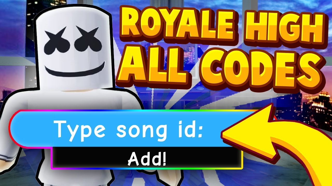 29/10/2020· there're many other roblox song ids as well. Every Promo Code For Royale High 2020 Roblox Royale High Music Codes Id S Youtube
