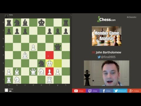 Chess.com Member Game Analysis: Vorkuta vs. Champ (Danish Gambit)
