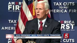 Vice President Pence Makes A Stop In Tennessee