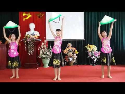Múa đẹp Quê tôi - học sinh tiểu học