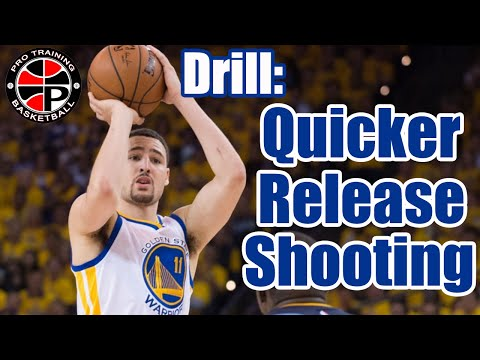 How To: Get A Quicker Release | Quick Release Shooting Drill | Pro Training Basketball