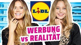 Heidi Klum Billigmode für Lidl - Werbung vs Realität #Letswow