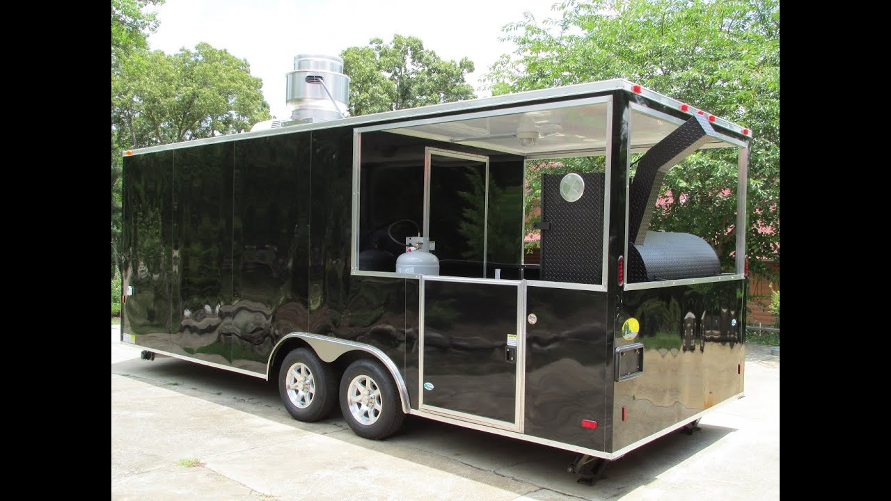 Make A Food From A Utility Trailer