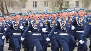 Рязанцы встретили десантников, вернувшихся с Парада в Москве.
