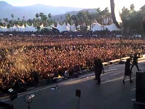 Megadeth Indio CA saying goodbye at BIG 4