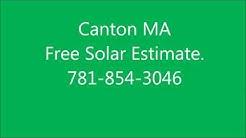 Solar Panels Canton MA