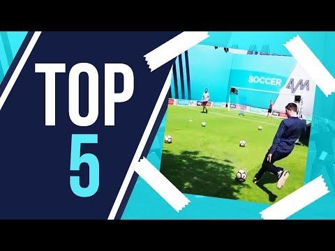 Scoring FIRST EVER Top Bin attempt?!   Top 5 Unbroadcast Top Bins Goals!