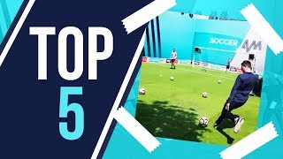 Scoring FIRST EVER Top Bin attempt?! | Top 5 Unbroadcast Top Bins Goals!