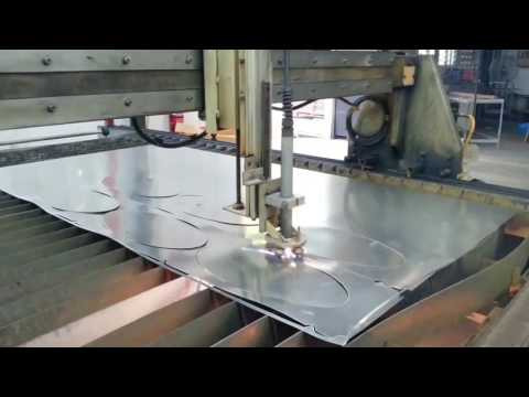 TruCut CNC Plasma Malaysia with Powermax45  Stainless Steel HVAC Ducting 0 3mm Cut