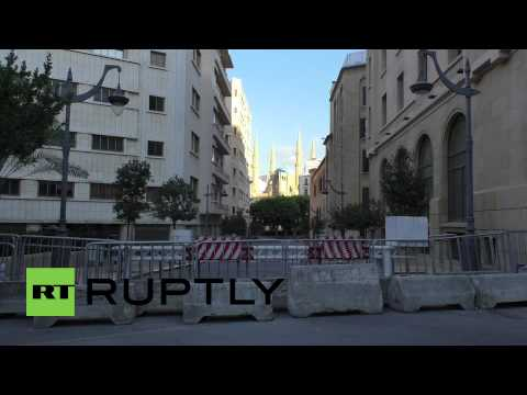 Lebanon: Security forces blockade Beirut's streets ahead of further protests