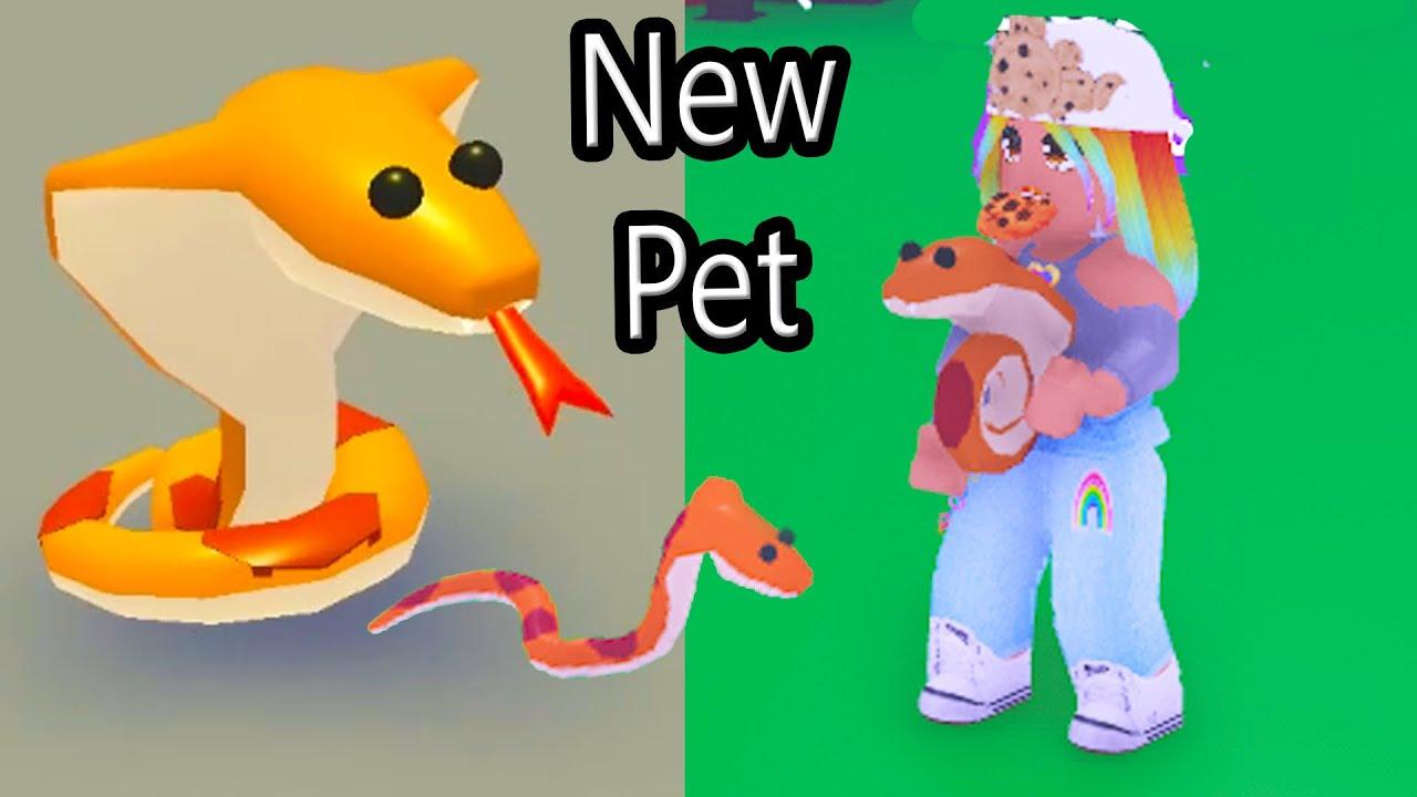 NEW Adopt Me Cobra Pet Roblox Update