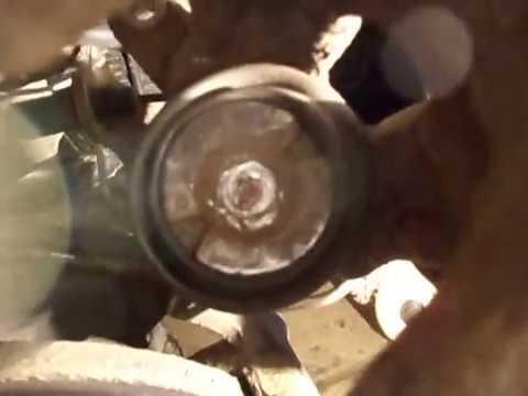 Renault Kangoo замена задних тормозных колодок