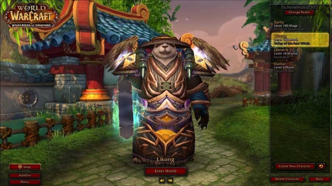 how to change wow character class