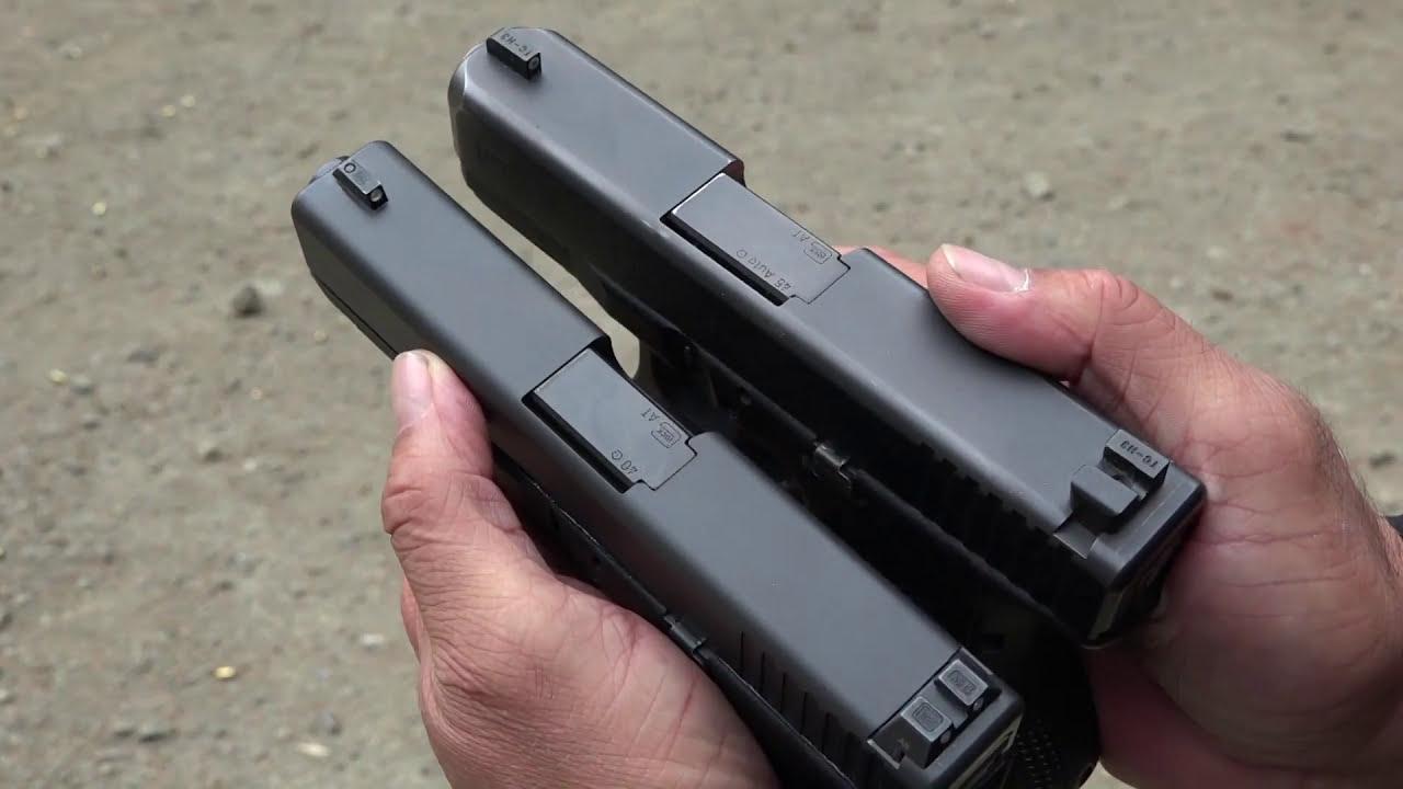 Glock 23 Gen 4 Dpm Systems Recoil Reduction System  Beretta9mmusa 07:07 HD
