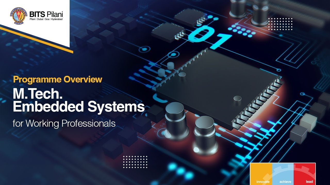 M Tech Embedded Systems For Working Professionals Bits Pilani