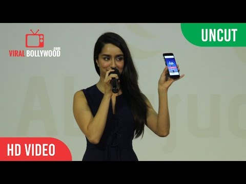 "UNCUT - Shraddha Kapoor ""Lend Your Voice App"" Launch 