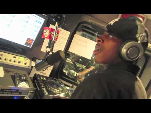 DJ RELLYRELL LIVE ON HOT 97 WITH FUNKMASTER FLEX 7/8/10