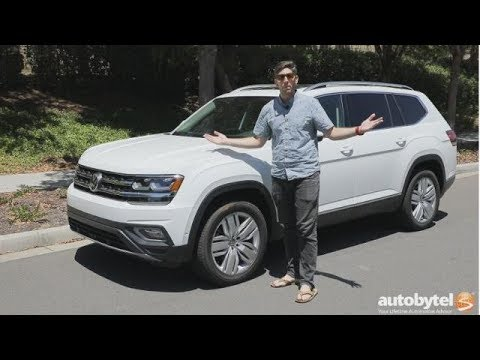 2018 Volkswagen Atlas SEL Premium Test Drive Video Review