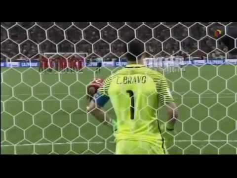 Asi Relato TV Peruana en el  Chile VS Portugal  Copa Confederaciones