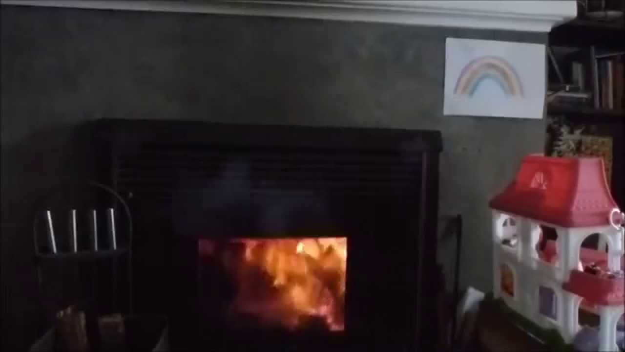 How to avoid Fireplace Smoke ? - YouTube