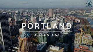 Portland, Oregon by Drone