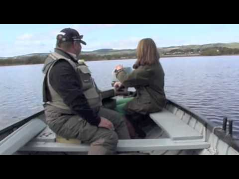 Trout Fishing On Loch Leven With Melissa Volpi. Also Sergio Goes Solo With Geese.