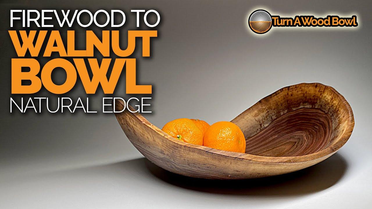Firewood to Bowl – Walnut Video