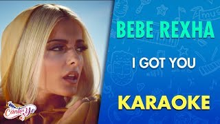 bebe rexha i got you karaoke cantoyo