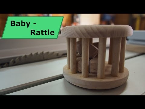 Woodworking -Diy - Baby Rattle