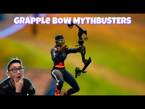 Grapple Bow Fortnite Mythbusters (New Bow)