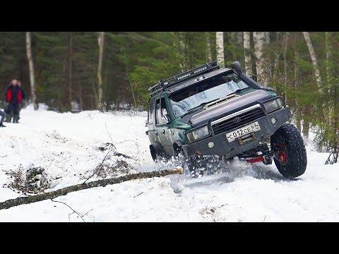 Экспедиция в чащу.Toyota Hilux невозможно сбить с пути! ГАЗ 69, Тагаз, Буханка, Паджеро, УАЗ, Нива
