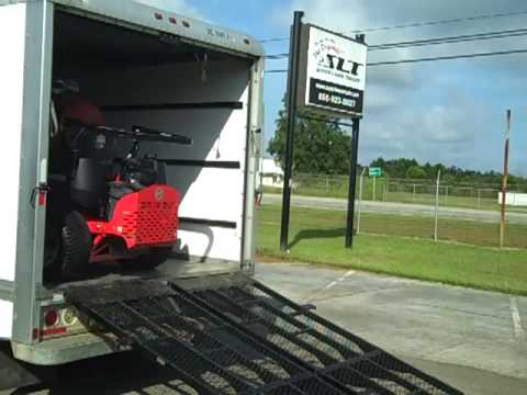 Loading Ramp for Box Trucks by Super Lawn Technologies