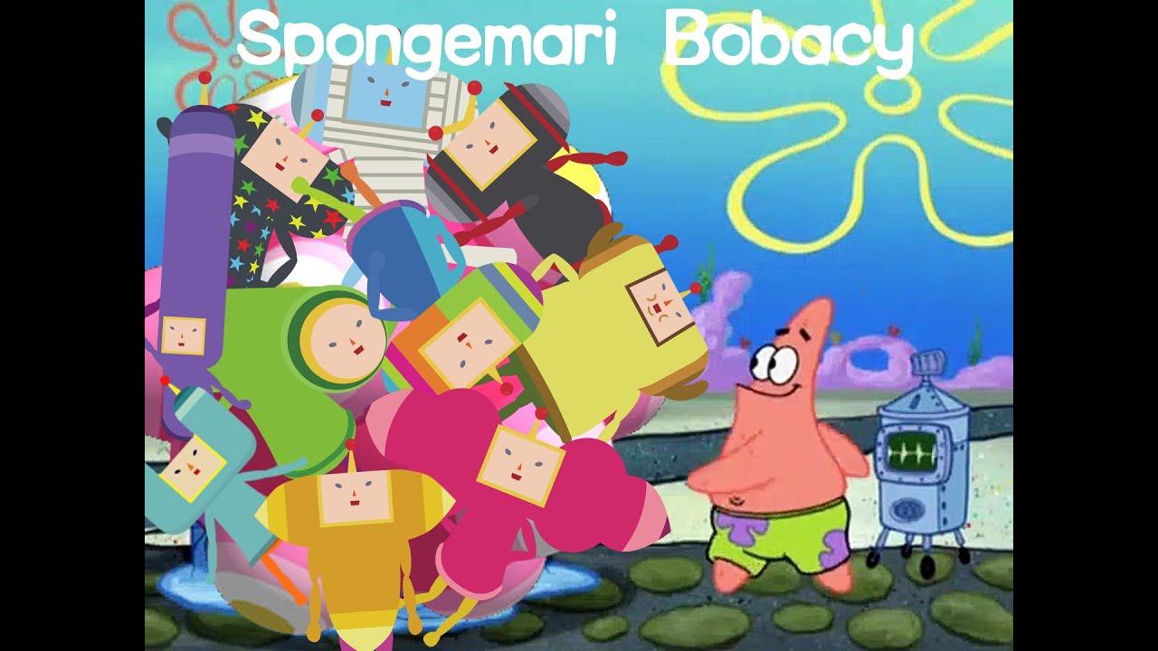 Katamari Damacy Characters protrayed by Spongebob