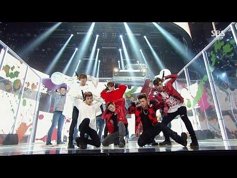iKON - 덤앤더머(DUMB&DUMBER) + 왜 또(WHAT'S WRONG?) 0103 SBS Inkigayo