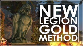 WoW Legion Garrison Gold Guide - 1000 Gold Daily - Legion Setup