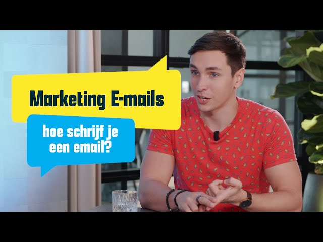 E-mail marketing: Hoe schrijf je een goede mail?
