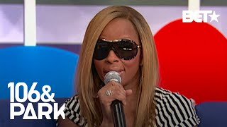 """#TBT Mary J. Blige Talks Her Alter Ego & Inspiration Behind """"Enough Cryin""""   106 & Park"""