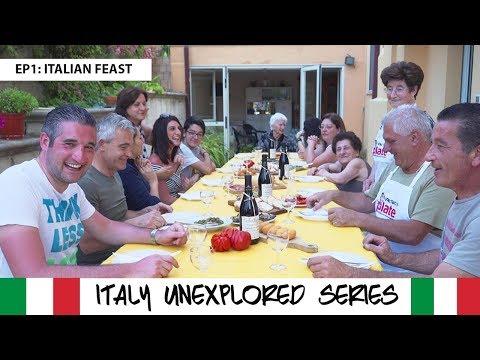 ITALY UNEXPLORED ABRUZZO - Italian Food Feast, Pescara & Chieti   Travel Documentary