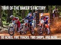 Tour of the Baker's Factory: 93 Acres, Five Tracks, Two shops, and More...