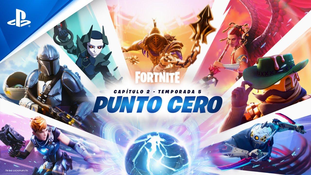 Fortnite: Capítulo 2 - Temporada 5 | Tráiler PS4 & PS5 Punto cero en ESPAÑOL | PlayStation España