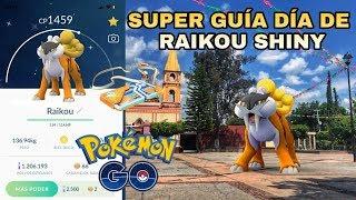 ¡CONSIGUE RAIKOU SHINY! ¡MEJORES POKEMON VS RAIKOU! ¡RAIKOU 100 IVS POKEMON GO!