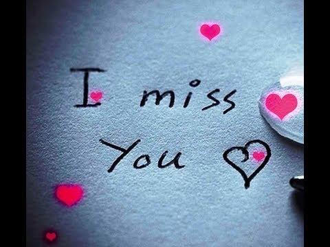 I Miss You Sweet Baby Doll 🌹 Very Sad WhatsApp Status