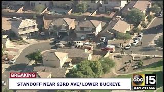 NOW: Police standoff near 63rd Ave/Lower Buckeye in Arizona