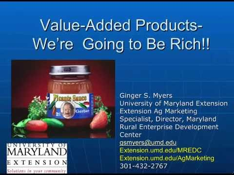 Why Value Added Products Fail
