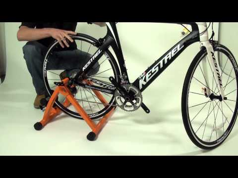 How To Set Up Your Bike On The Conquer Cycling Trainer